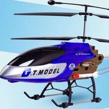 134 см супер большой профессиональный вертолет QS8006 3.5CH гироскоп металлический электрический RTF 2 скоростная модель с ракетной светодиодной подсветкой Дрон