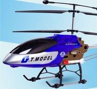 134 см супер большие Профессиональный вертолет QS8006 3.5CH гироскопа металла электрический rtf 2 Скорость модель с ракетной LED lightrc Drone