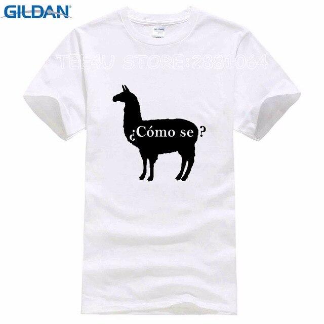 dc1c9a44 T-Shirt Summer Novelty Cartoon T Shirt Como Se Llama Shirt, Funny School  Shirts, Funny Spanish Shirt