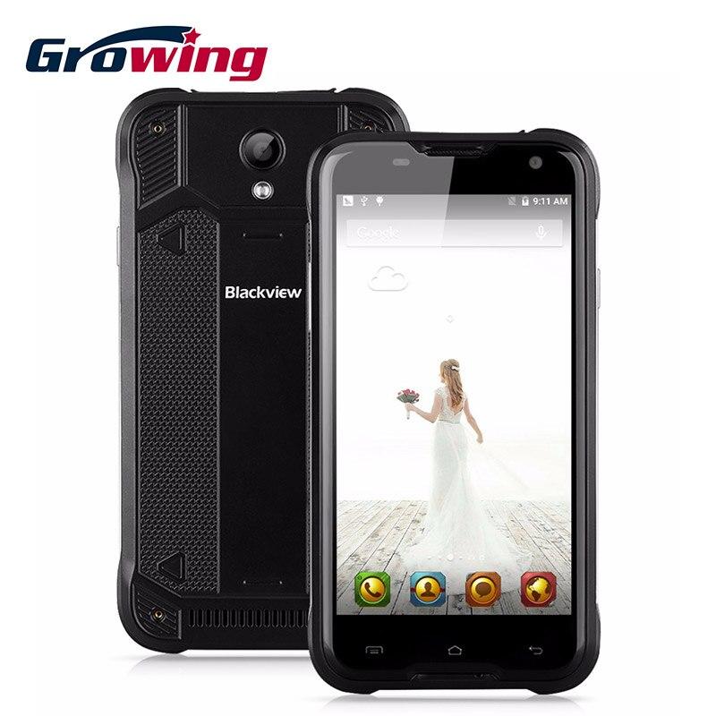 """bilder für Blackview BV5000 IP67 Wasserdichte Smartphone 4G Android 5.1 OS Quad Core MTK6735P 5,0 """"IPS 64bit 2G + 16G 5MP 13MP OTG handy"""