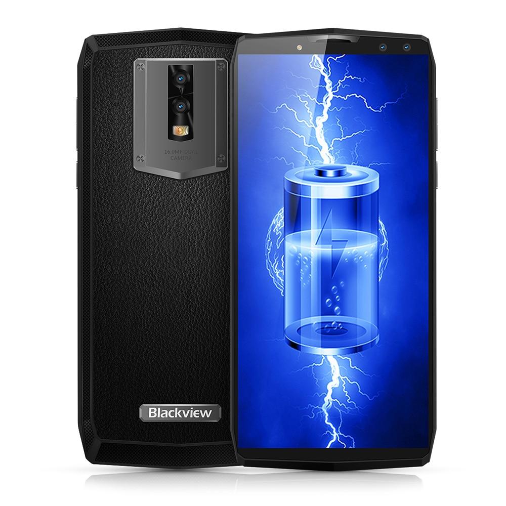 Blackview P10000 Pro 4g 5.99 pollice Android 7.1 MTK6763 Octa Core 2.0 ghz 4 gb di RAM 64 gb ROM quad 4 Telecamere In Pelle 11000 mah Batteria