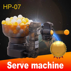 1 قطعة HP-07 طاولة تنس الطاولة تنس الروبوتات آلات الكرة ، التلقائي الكرة آلة 36 يدور المنزل ممارسة على آلة