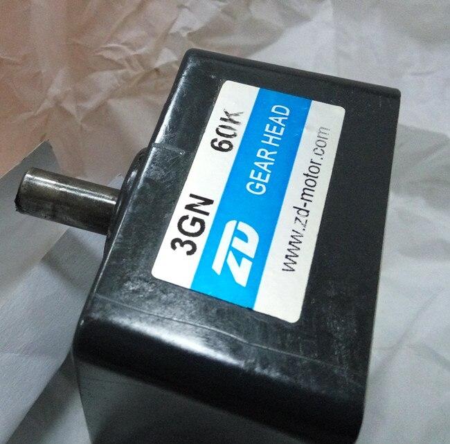 528de6d2c 4 pcs caixas de câmbio cabeça da engrenagem 2 peças 3GN 40  1 e 2 peças 3GN  75  1 AC redutor Micro gear box enviar para méxico