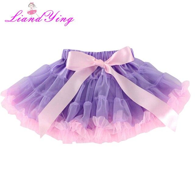 f66efbfada Crianças Saia Tutu Menina Meninas Vestido de Bola Saia de Tule Tutus  Desempenho Roupas Crianças Ballet