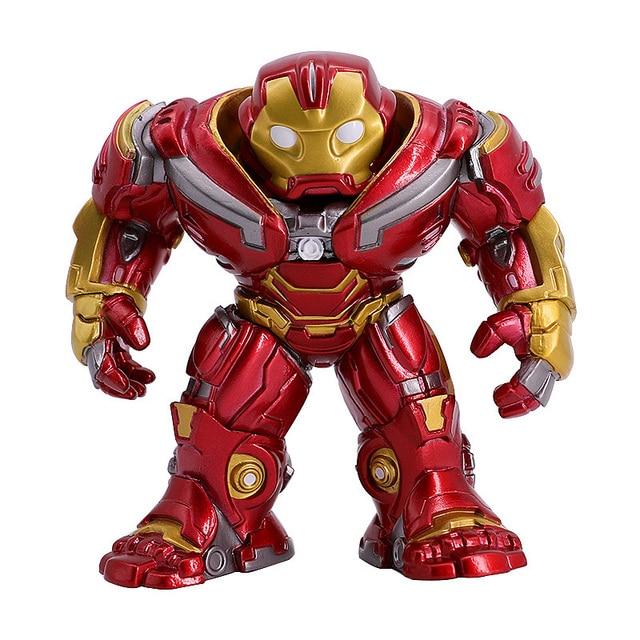 Ironman Vingadores Hulkbuster Vinly Boneca Action Figure Figura Marvel Brinquedos Quentes Coleção Desktop Decor