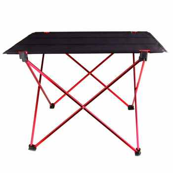 Portable Foldable Folding Table Desk Camping Outdoor Picnic 6061 Aluminium Alloy Holder,Ultra-light and Durable AND Waterproof - DISCOUNT ITEM  15% OFF All Category