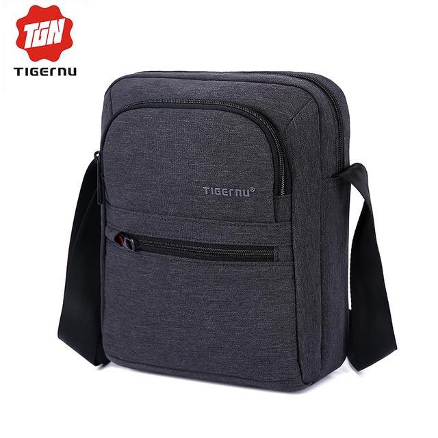 Tigernu Brand High Quality Men 's Messager Bag Mini Business Shoulder Bags  Casual Travel Bag Women Cross body Bag