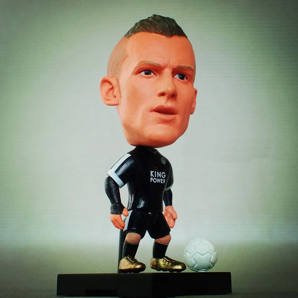KODOTO SoccerWe 2016 Season Leicester Jamie Vardy Football Soccer Moveable Star Collection Dolls Toy Figures пена монтажная mastertex all season 750 pro всесезонная