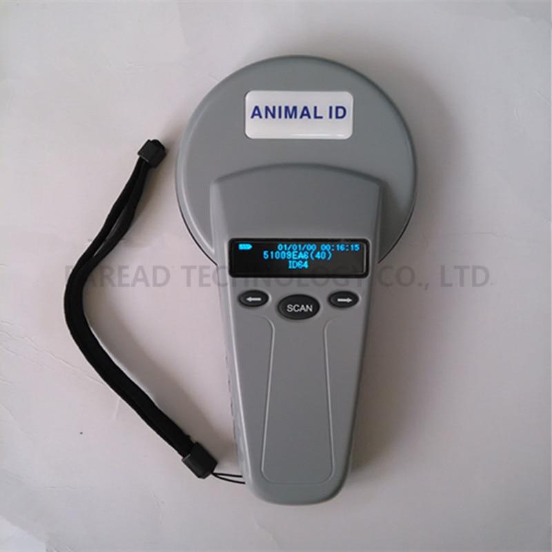 FRD5300 Pet Scanner,animal ID handheld reader bluetooth usb 134.2kHz/125kHz FDX-B ID64