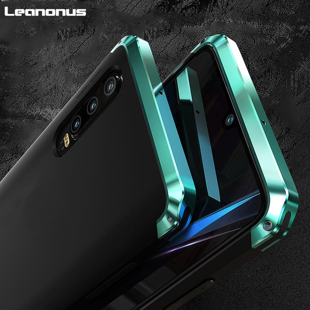 Armor Aluminum Metal Frame Case For Huawei P40 Pro P30 Case Hard Plastics Hybrid Shockproof Cover for Huawei P30 Pro Phone Shell