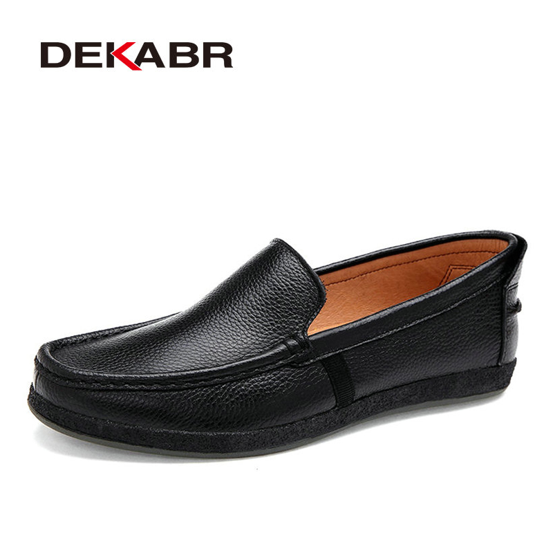 Men Shoes Genuine Leather Loafers Slip On Fashion Casual Driving Shoes Mocassins Flats Sapatos Masculinos Social Zapatos Hombre bole new handmade genuine leather men shoes designer slip on fashion men driving loafers men flats casual shoes large size 37 47