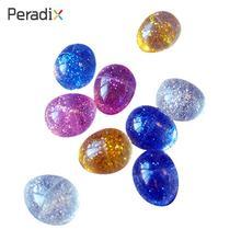 Boule de couleur de bonbons haute rebond * 10pcs Luminous High Bounce Ball caoutchouc nouveauté Creative Vending Toys