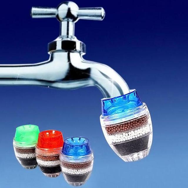 1pc Coconut Carbon Home Kitchen Restaurant Faucet Tap Multi Layers Water Clean Purifier Filter Cartridge Kitchen Faucet Accessories Aliexpress