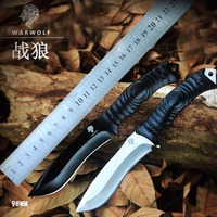קשיות גבוהה סכין הישרדות במדבר חיוניים סכיני צבא באיכות גבוהה הגנה עצמית קמפינג סכין ציד כלים חיצוני EDC