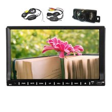Universal 2 din Android 4.4 Car DVD player GPS+Wifi+Bluetooth+Radio+DDR3+Capacitive Touch Screen+3G+car pc+aduio 16G Quad Core