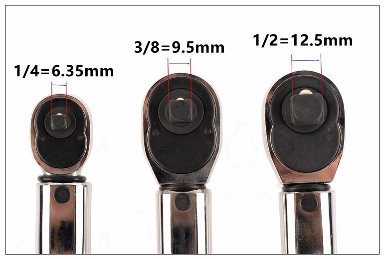 Chiave dinamometrica regolabile MXITA 1-6N 2-24N 5-25N 5-60N 20-110N - Utensili manuali - Fotografia 5