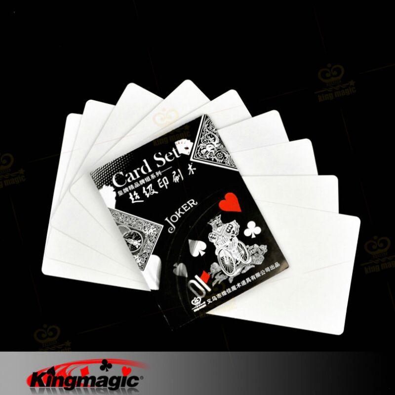 हॉलिडे सेल्स प्रेस्टो प्रिंटो -फैस्ट कार्ड प्रिंटिंग कार्ड मैजिक सेट्स मैजिक प्रॉप्स मुफ्त शिपिंग 10 पीसी / लॉट
