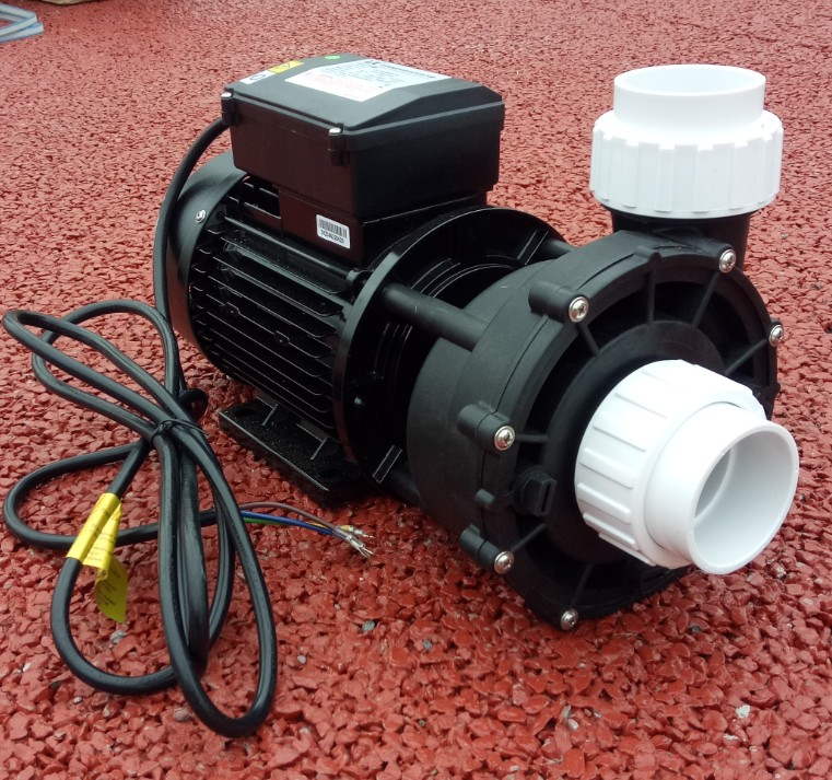 LX Whirlpool Hydromassage WP200-II spa pump - two speed - 2.0hp Hot Tub Spa Pump 2HP compatabile direct Waterway 56 Frame