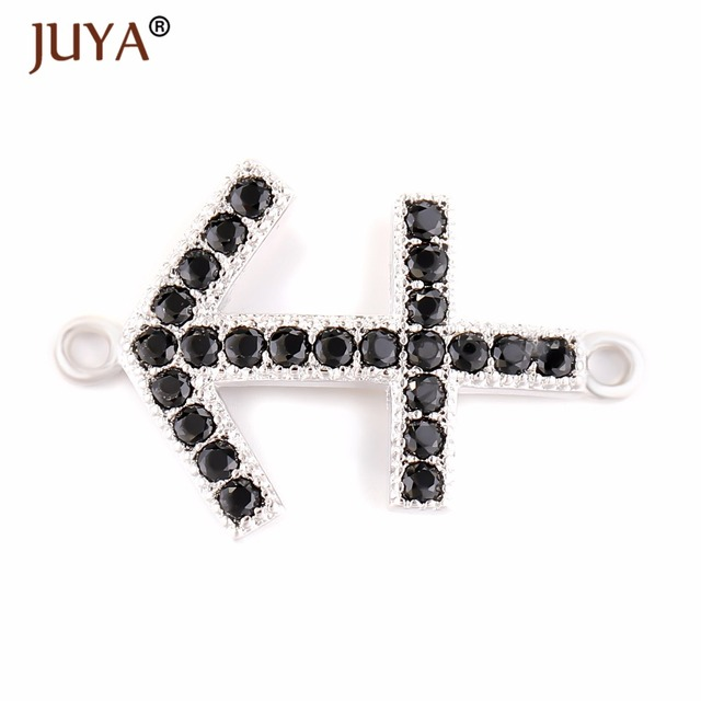 jewelry making supplies gold silver rose gold black zircon