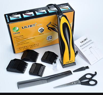 Cabeleireiro é especial clipper adulto do agregado familiar da corte de cabelo elétrico de alta potência, a máquina de cortar cabelo de barbear elétrico DaoMeiFa corte também