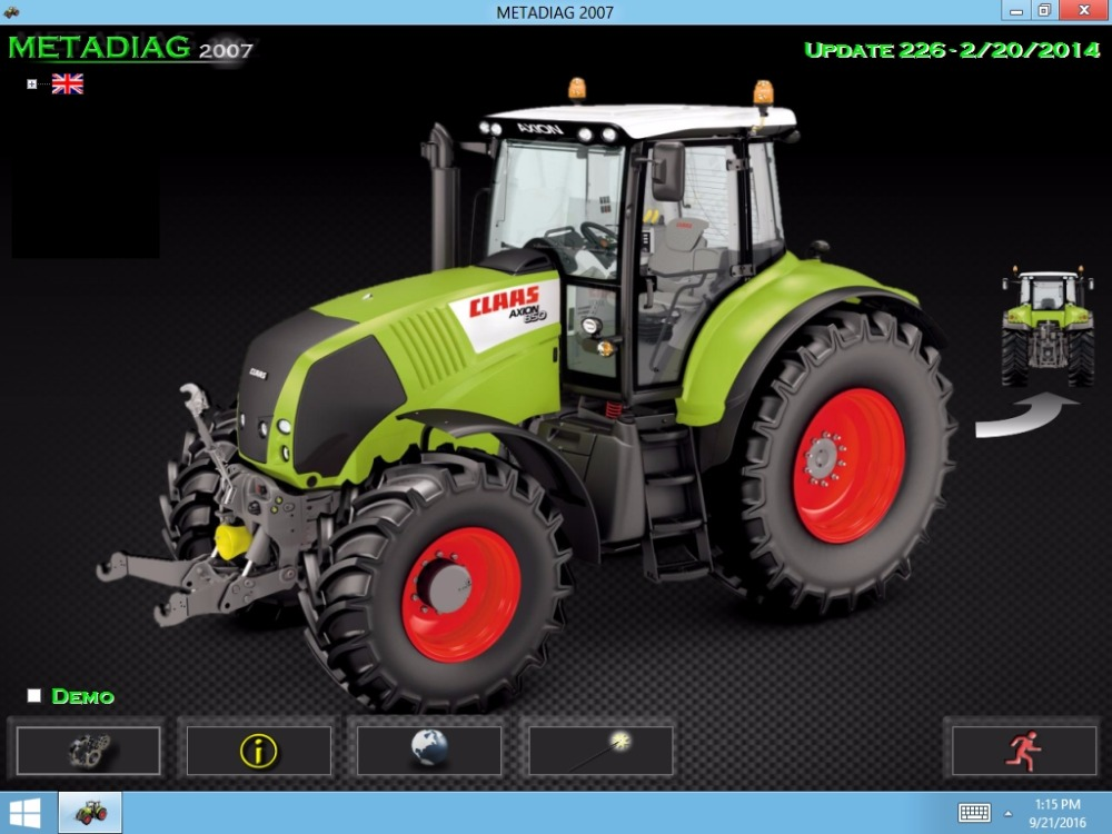 For Claas MetaDiag 2007 (Update 2016)
