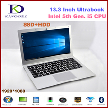 2017 New 13.3″ Laptop Intel i5 5th Gen. CPU Ultrabook Computer with 8GB RAM+1000GB NGFF SSD 1920*1080 8 Cell Battery Windows10