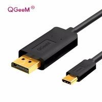USB 3 1 USB C To DP Displyport Cable Type C To DP Converter 4K 60Hz