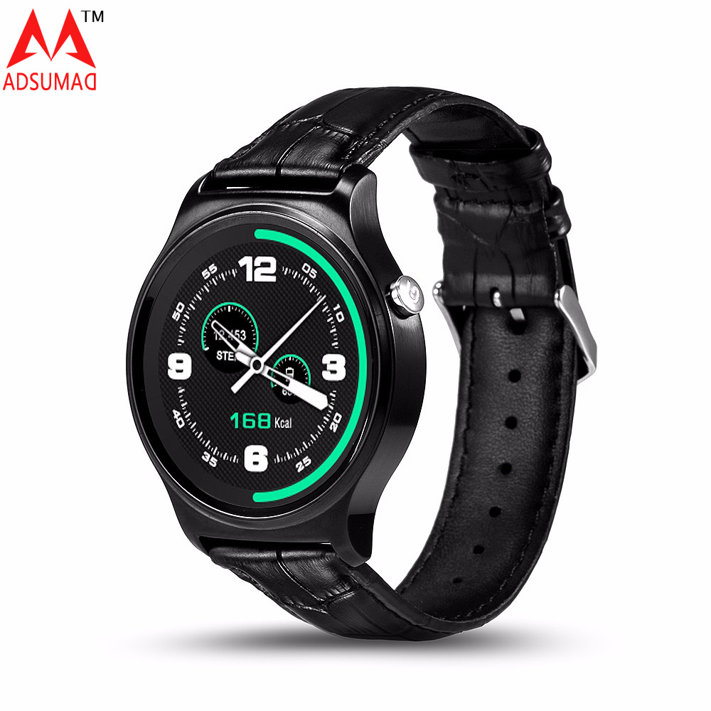 2017 Smart watch GW01 MTK2502 Bluetooth 4.0 waterproof IP53 Heart rate monitor for IOS title=