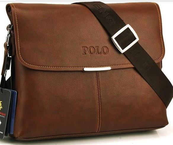 Aliexpress.com : Buy POLO leather men messenger bag. fashion male ...
