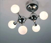 Fashion design Dna 5 heads ceiling lamps G4 white machine dog ceiling light lamp fixture drplight dining room FG520