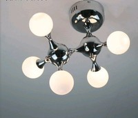 Fashion design Dna 5 heads ceiling lamps G4 white machine dog ceiling light lamp fixture drplight dining room FG520