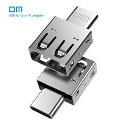 Tipo di trasporto libero DM-C TIPO di Adattatore C-B USB C Maschile per USB2.0 Femail USB OTG converter per dispositivi con typec interfaccia