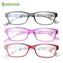 SOOLALA 3pcs Anti Blue Ray Glasses Computer Light Blocking Women Filter Fatigue