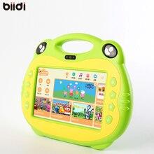Tab Pc Niños kids learning Tablet Pc Sistema Android Quad núcleo Instalado Mejores regalos para Los Niños cantando tablet con 2 Microph