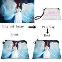 71ab86992b99 VEEVANV Индивидуальные Ваш образ логотип, название Wrislet сумка для женщин  модные мягкие кожаные клатчи сумки