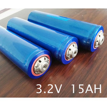 Новые 4 шт. 3.2 В Перезаряжаемые Lifepo4 литиевая батарея 40160 ячеек 15Ah std разряда 45A для 12 В 15ah Ebike источник бесперебойного питания HID свет