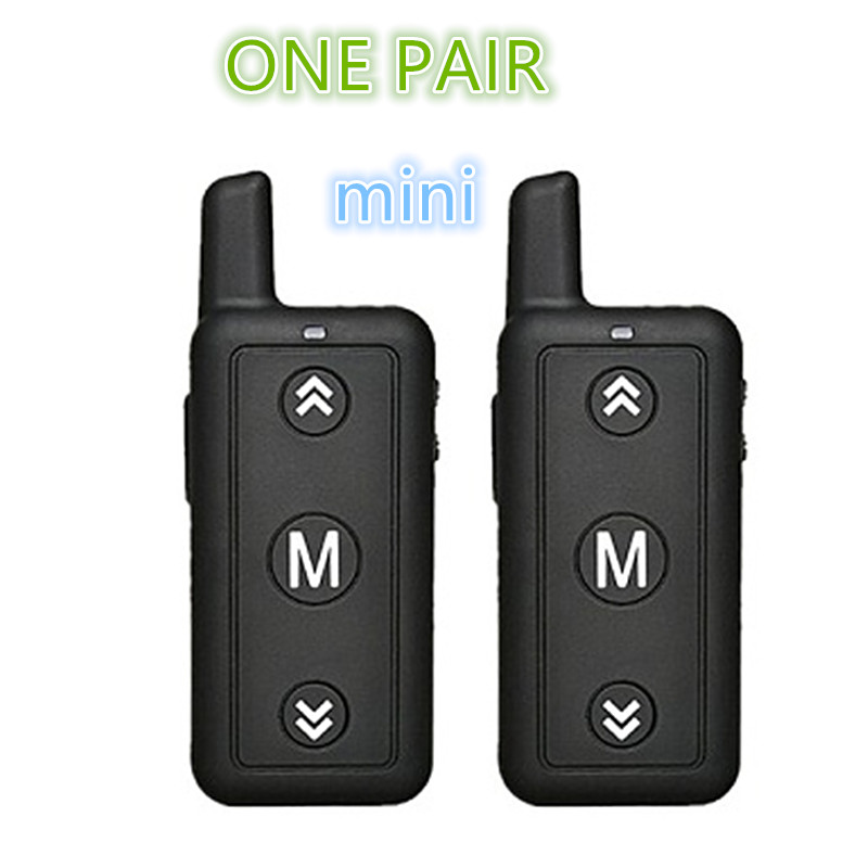 2PCS Toy Mini Walkie Talkie 16 Channels Leixen VV-109 Two-Way Radio Woki Toki  FRS Small Size For Restaurant And Kids