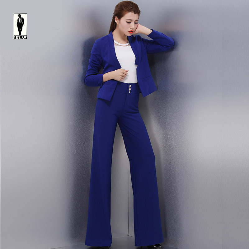 Compare Prices on Blue Womens Pant Suit- Online Shopping/Buy Low