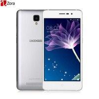 מקורי doogee mt6570 x10 אנדרואיד 6.0 טלפון נייד 5.0 inch IPS 512 M זיכרון RAM 8 GB ROM Smartphone 3360 mAh WCDMA 3 גרם נעילה טלפון סלולארי