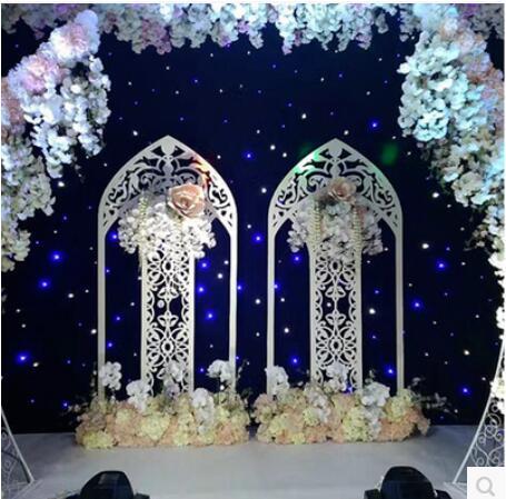 New Wedding Iron England Screen Fan Arch Arches Wedding