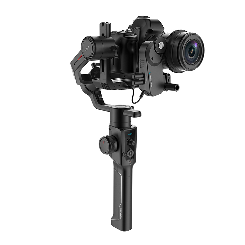 Moza Air 2 4-Axis Handheld Stabilizer for Canon 5D Mark IV Sony A7S A7R3 Lumix GH4 DSLR DV Mirrorless Cameras, Payload 4.2kg dv mark triple 6