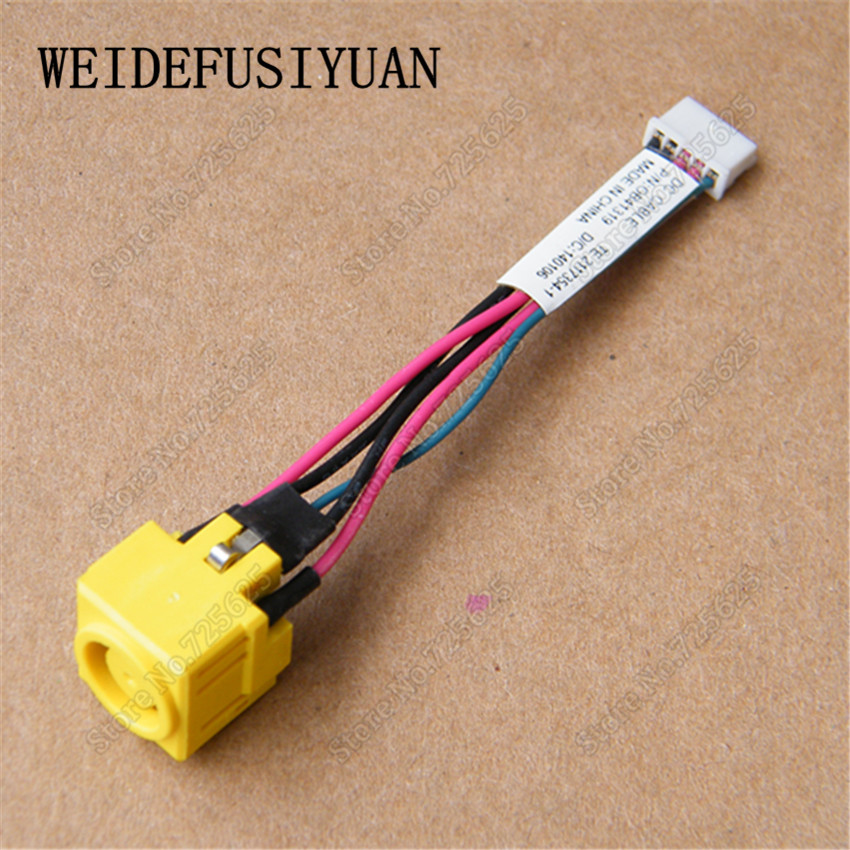 DC Power Jack Connector for Lenovo T410 T410I T420 T430 DC in Cable 1pcs смартфон lenovo vibe c2 power 16gb k10a40 black