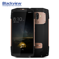 Blackview BV9000 Pro Smartphone 5.7 18:9 Android 7.1 IP68 Waterproof Mobile NFC 6GB+128GB 4180mAh 4G LTE Fingerprint Cell Phone