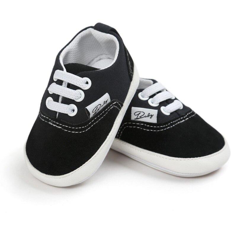 New Baby Newborn Girl Boy Soft Sole Toddler Infant Sneaker Shoes Prewalker 0-18M
