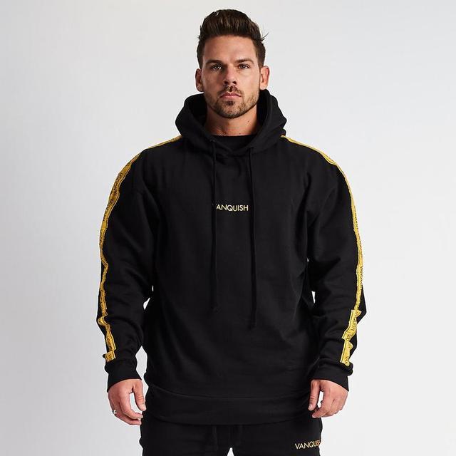 2019 демисезонный новые фитнес для мужчин спортивные куртки с капюшоном Толстовка для бодибилдинга повседневное Slim Fit куртки с капюшоном