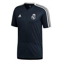 ADIDAS 2A T REAL MADRID TRAINING MAN black polyster Jersey Real Madrid football shirt, Jersey Adidas