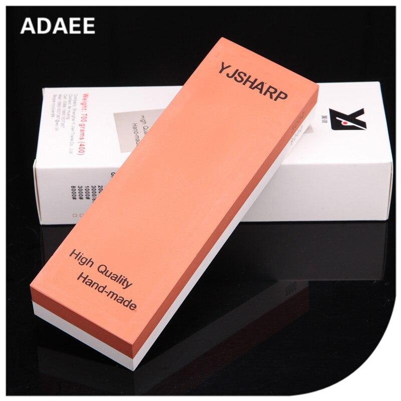 3000 8000 Grit Adaee afilador de cuchillos japoneses con alta calidad whetstone para hacha tamaño 7,1 '* 2,4' * 1,1