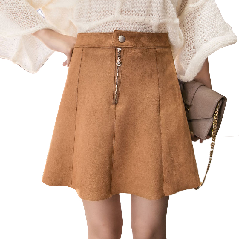 Online Get Cheap Short Brown Skirt -Aliexpress.com | Alibaba Group