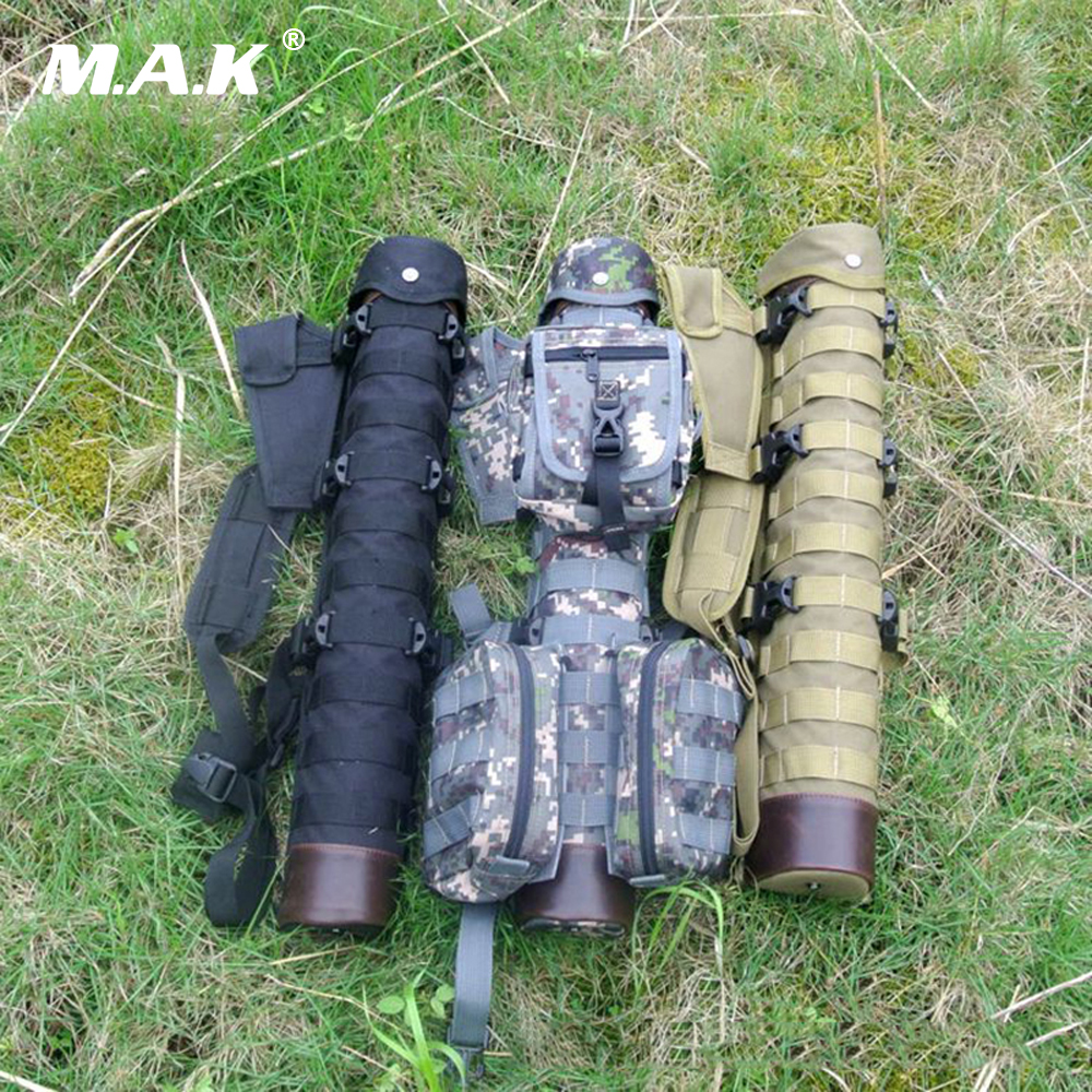 3 Colors Tactical Nylon Arrow Quiver with Molle System Bag for Recurve/Compound bow Archery Hunting Shooting outdoor camouflage archery hunting arrow quiver water resistant archery quiver holder caza arrows bow quiver bag with zipper