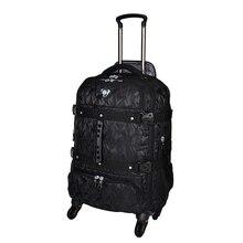 Oversize-емкость, рюкзак, троллейбус, 26 дюймов Бизнес Дорожный чемодан, авиации за рубежом Проверено сумка, rolling Багаж
